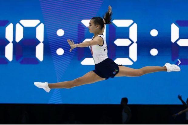 Bakıda aerobika gimnastikası üzrə Avropa çempionatının açılışı oldu