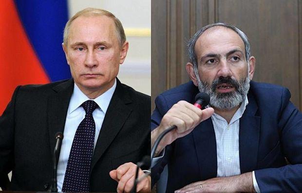 Peskov: Putinlə Paşinyan Dağlıq Qarabağı müzakirə etməyib