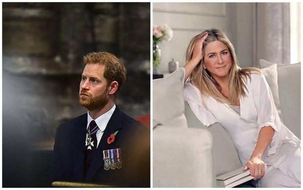 """Eniston Britaniya şahzadəsi Harriyə """"yox!"""" deyib"""