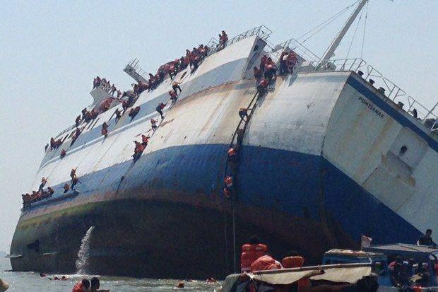İndoneziyada gəmi qəzası: 17 ölü