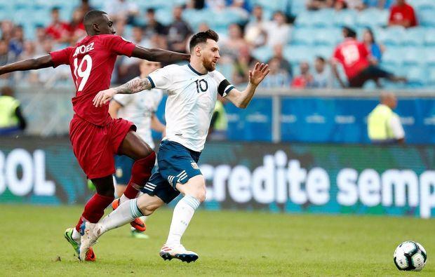 Copa Amerika: Argentina ¼ finala vəsiqə qazandı