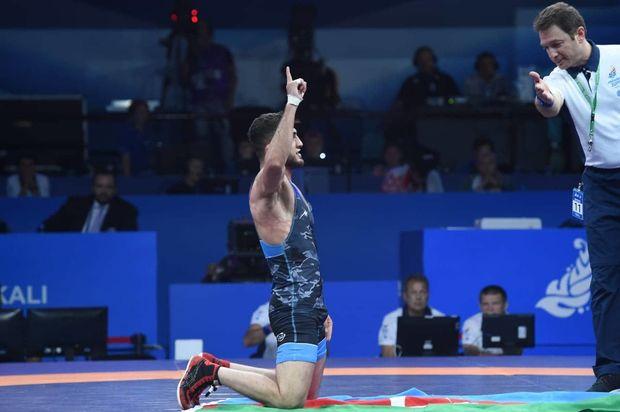 Sərbəst güləş millimiz Avropa Oyunlarında ikinci oldu