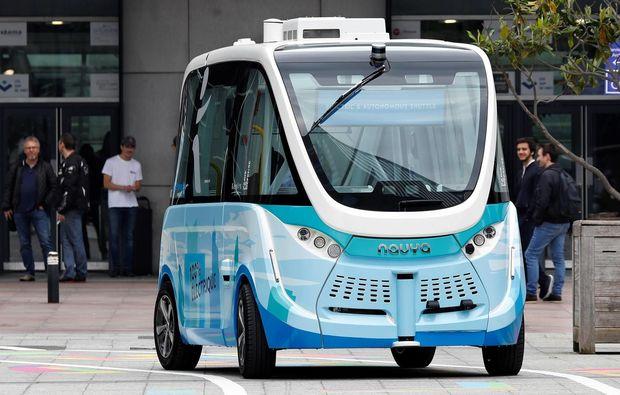 Avropanın daha bir şəhərində pilotsuz elektrobuslar istifadəyə verildi