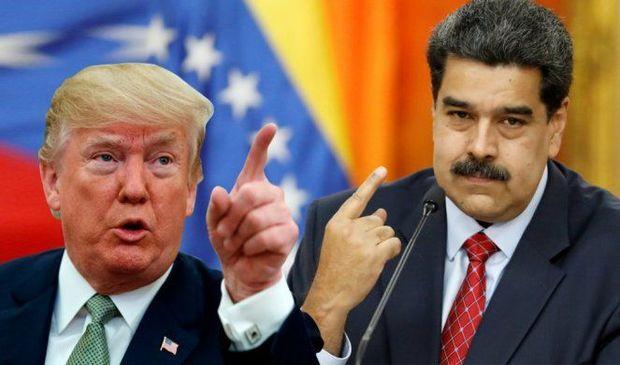 """Tramp Venesuelanı """"iqtisadi blokada""""ya saldı"""