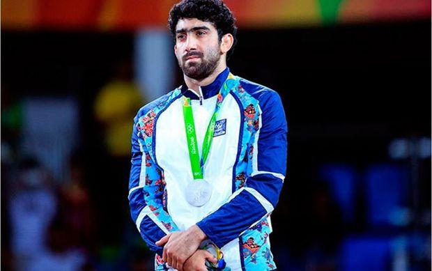 Olimpiya çempionumuz döşəyə Tbilisidə qayıdır