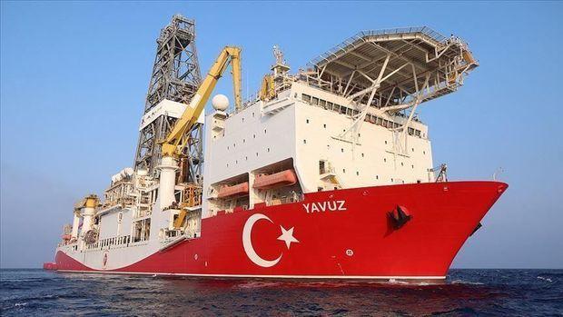 """Türk """"Yavuz""""u Kipr sahillərində qazıntıya başladı"""