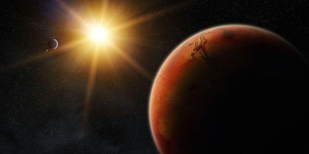 Mars stansiyasının paraşütü açılmadı