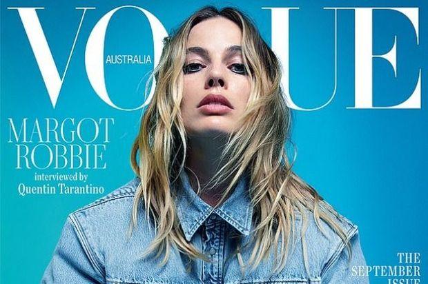 """Marqo Robbi """"Vogue"""" jurnalı üçün şəkil çəkdirdi və Tarantinoya Müsahibə verdi – FOTO"""