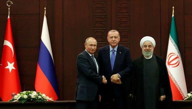 "Putin Ankarada ""Quran""dan sitat gətirdi - VİDEO"