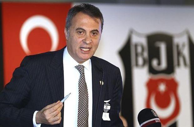 """""""Beşiktaş""""ın prezidenti istefa verdi"""