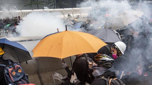 Honkonq qarışdı: etirazçılarla hökumət tərəfdarları arasında toqquşmalar