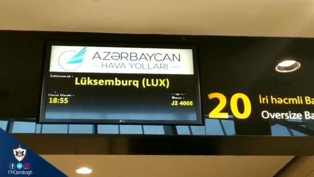 """""""Qarabağ"""" Lüksemburqa belə getdi - VİDEO"""