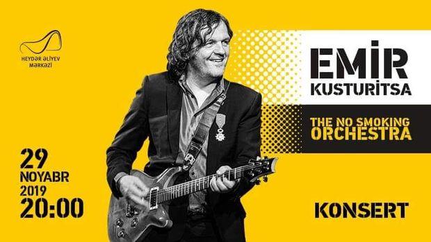 Bakıda əfsanəvi Emir Kusturitsanın konserti olacaq