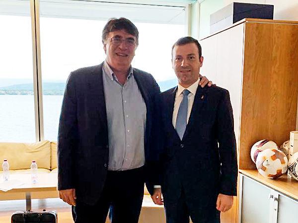 """Elxan Məmmədov UEFA-nın Baş katibinə millimizə və """"Qarabağ""""a qarşı olan haqsızlıqdan danışdı"""