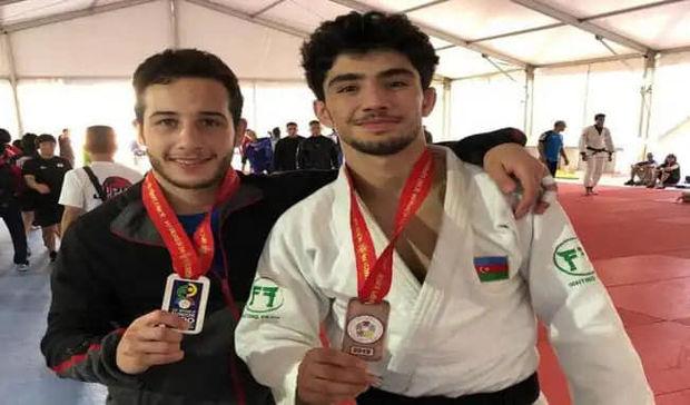 Dünya çempionatının ilk günündə Azərbaycan cüdoçuları iki medal qazandı