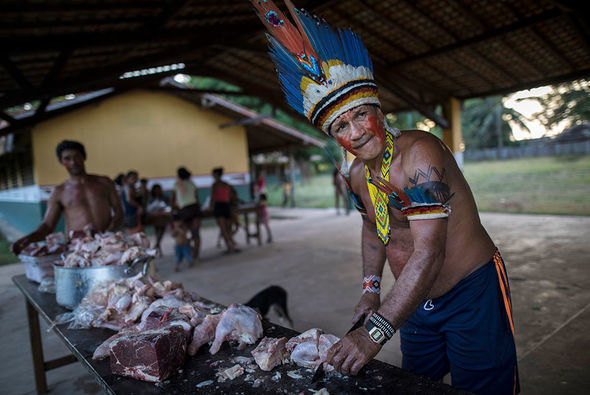 Amazon hinduları: ənənədən xaric müasir həyat - FOTO