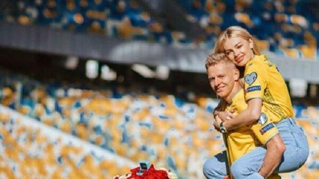 Ukrayna millisinin oyunçusundan romantik evlənmək təklifi - FOTO