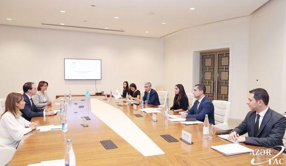 Heydər Əliyev Fondu ilə UNİCEF arasında Anlaşma Memorandumu imzalanıb - FOTO_0