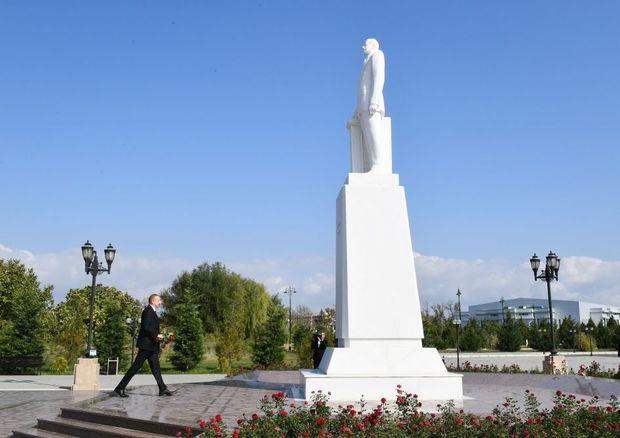 İlham Əliyev Ağdaş rayonunda - YENİLƏNİB