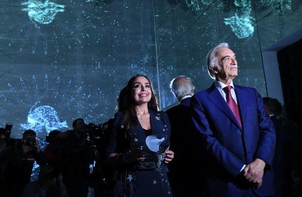 Leyla Əliyevanın əsəri Müasir İncəsənət Biennalesində təqdim olundu - FOTO