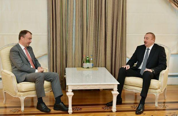 İlham Əliyev Avropa İttifaqının xüsusi nümayəndəsini qəbul etdi