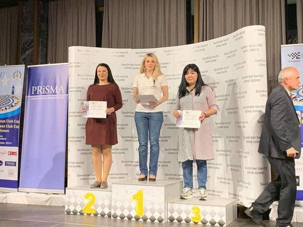 Şahmatçılarımız Avropa Kubokundan yeddi medalla qayıdır