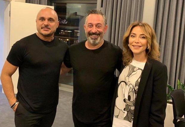 Cem Yılmaz azərbaycanlı məşhurlarla bir arada: Miri Yusif, İradə İbrahimova, Fərda...