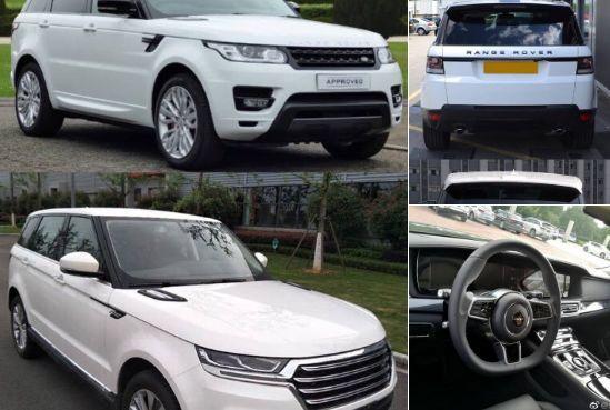 """Çinlilər """"Range Rover""""in surətini istehsal etdilər - əslindən on dəfə ucuzdur"""