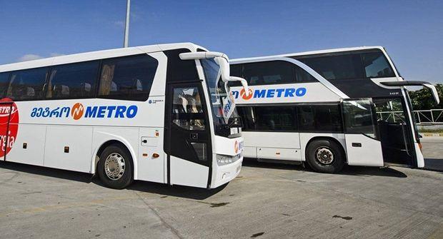 Gürcüstanda içərisində Azərbaycan vətəndaşlarının olduqları avtobus yanıb