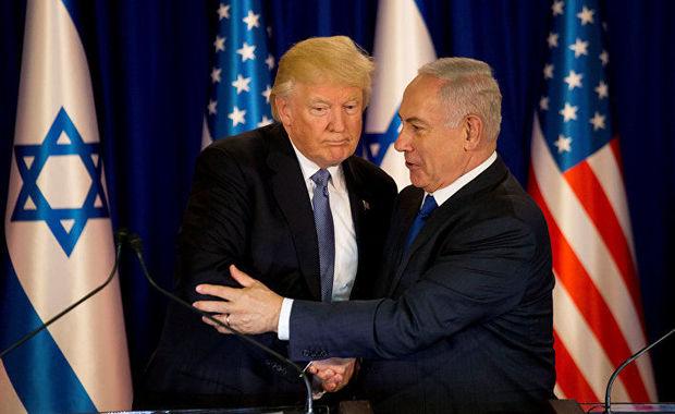 Netanyahu Trampa təşəkkür etdi