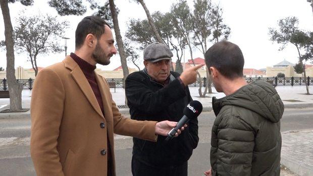 Təmir qonşular arasında mübahisə yaratdı: Bir ailə evsiz qaldı - VİDEO