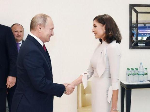 Mehriban Əliyeva Vladimir Putinlə görüşəcək