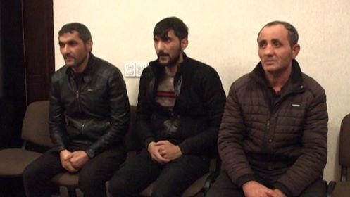 Şəmkirdə 3 nəfərdən ibarət oğru dəstə saxlanılıb - VİDEO