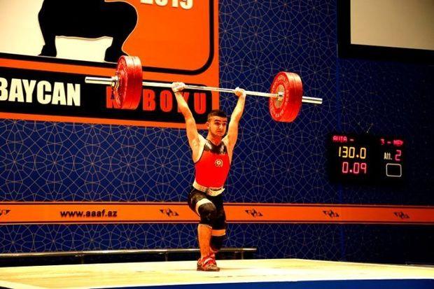Azərbaycanlı ağır atlet Avropa rekorduna imza ataraq çempion oldu