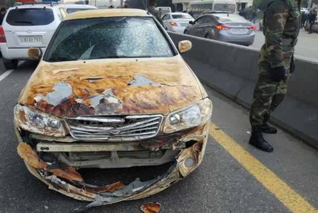 Bakıda dəhşətli yanğında avtomobillərə ziyan dəydi - FOTO
