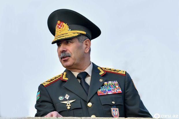 Zakir Həsənov komandir-rəis heyəti qarşısında tapşırıqlar qoydu