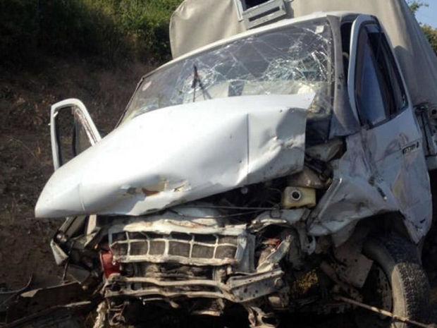 """İmişlidə """"Qazel""""lə minik avtomobili toqquşdu, 1 nəfər öldü, 2 nəfər xəsarət aldı"""