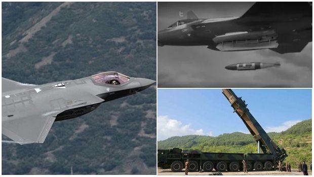 """Seulun qırıcısı Şimali Koreyanın raketini """"vurdu"""" - VİDEO"""