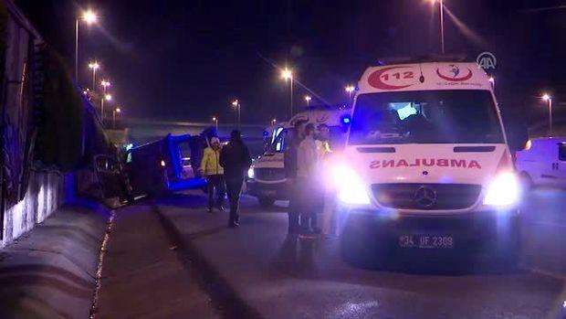 Azərbaycanlı sərxoş sürücü İstanbulda qəza törətdi