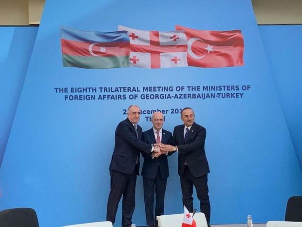Azərbaycan, Türkiyə və Gürcüstan XİN rəhbərlərindən birgə bəyanat