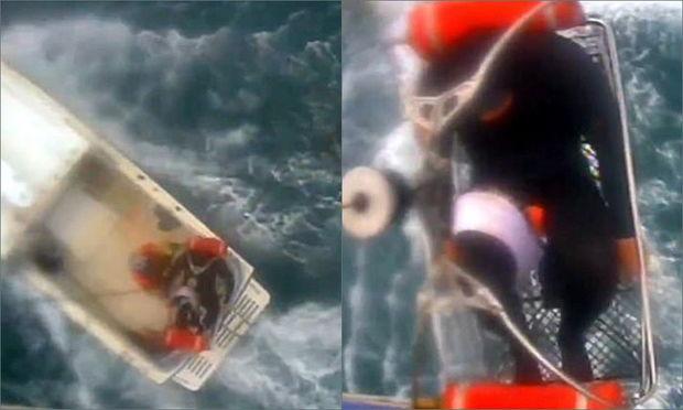 Köpək balığının yaraladığı sörfinqçi belə xilas edildi - VİDEO