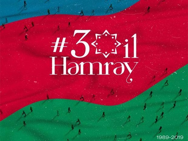Dünya azərbaycanlılarının Həmrəylik Gününün 30 ili – VİDEO