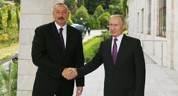 Putin İlham Əliyevi təbrik etdi