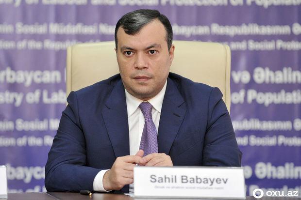 Sahil Babayev: Hər bir vətəndaşın fərdi sosial proqramı yaradılacaq