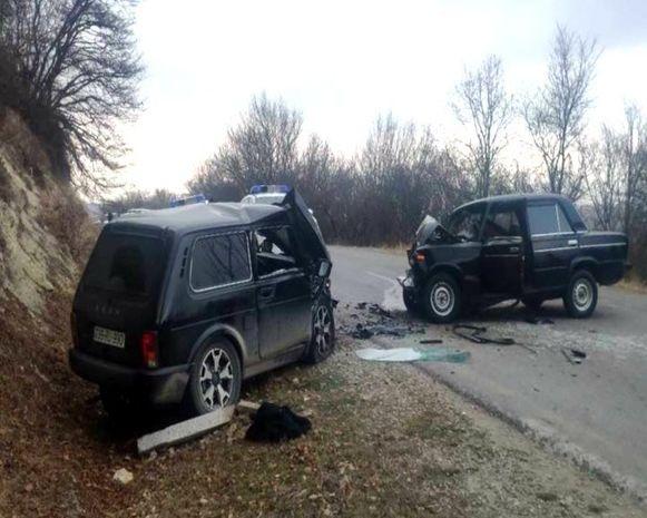 Şamaxıda ağır qəzada dörd nəfər yaralandı - VİDEO