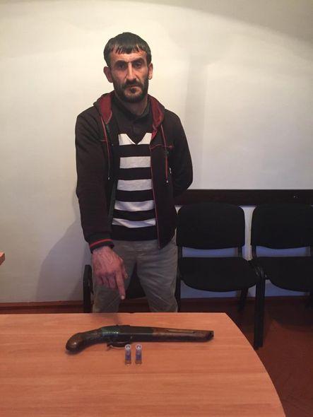Astarada silah satan şəxs saxlanıldı - FOTO_1
