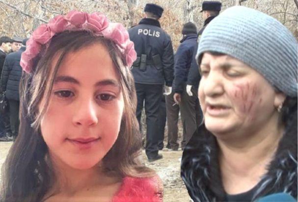 """10 yaşlı Nərminin nənəsi: """"Dedilər ki, od vurublar uşağıma, yanır"""" - VİDEO"""