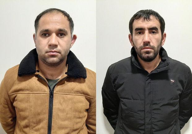"""Bakıda narkotik maddələrin satışı ilə məşğul olan """"məhbəs dostlar""""ı saxlanıldı - FOTO"""