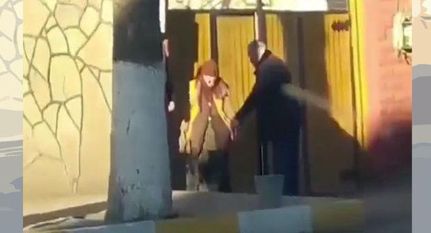Azərbaycanda hiddət doğuran görüntü