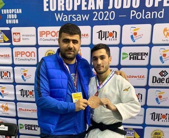 Cüdoçumuz Polşada medal qazandı - VİDEO